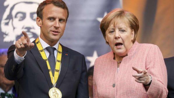 Macron: no a surplus tedesco, feticcio a spese degli altri