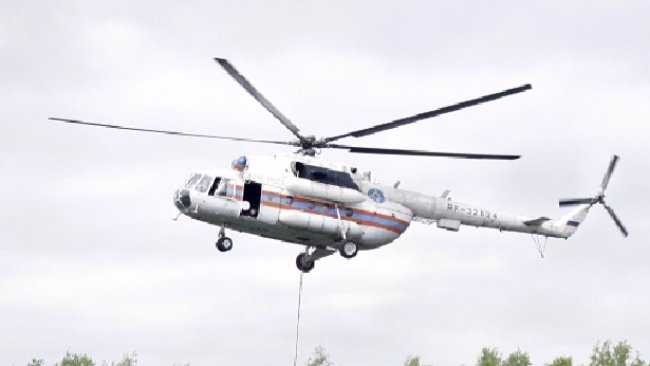Elicottero Mediaset : Russia precipita un elicottero in siberia almeno