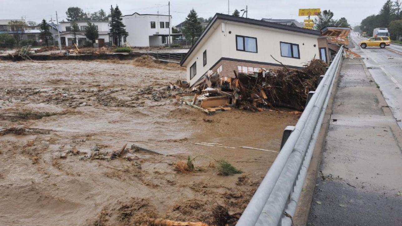 Giappone, 11 morti e 3 dispersi per il passaggio di un tifone a Nordest del Paese