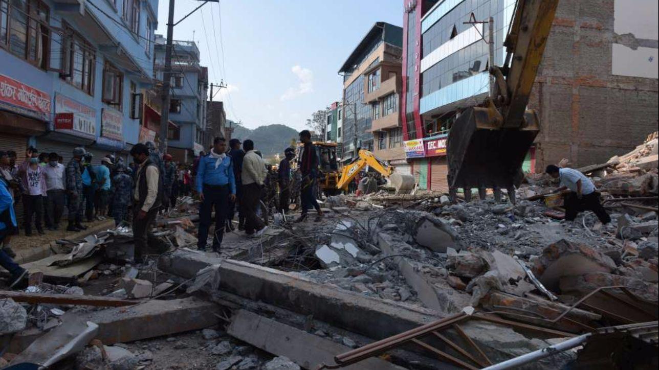 Nepal, terremoto di magnitudo 5.4 nel Nord-est