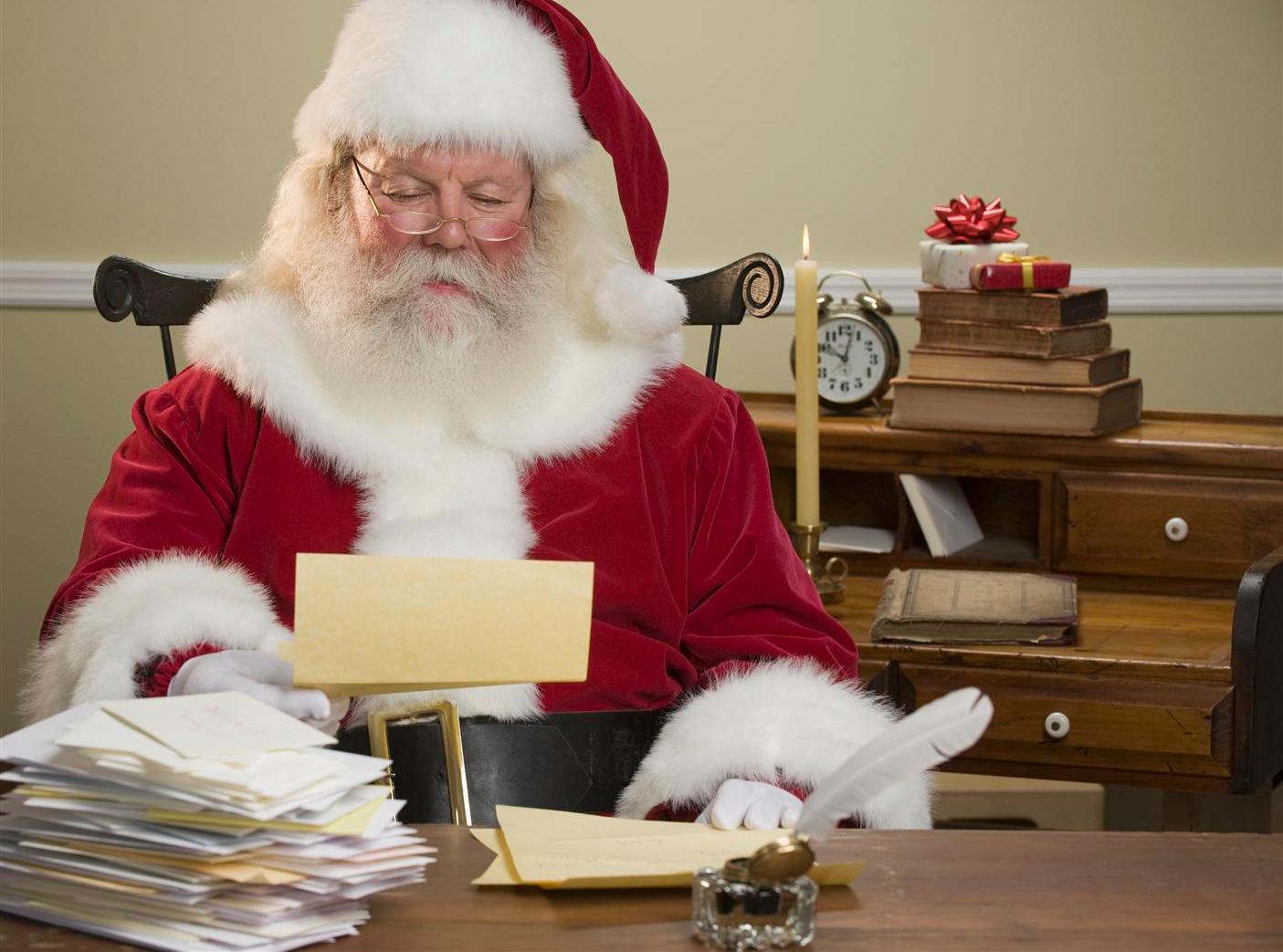 Babbo Natale Letterine.Quattro Letterine Per Babbo Natale Tgcom24