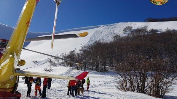 Valanga a Campo Felice sul Gran Sasso, morti due sciatori: salvo un terzo