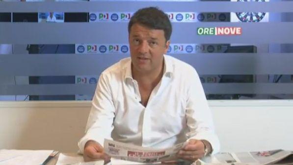 Pd, Renzi: il dibattito sulle coalizioni addormenta gli elettori e non serve