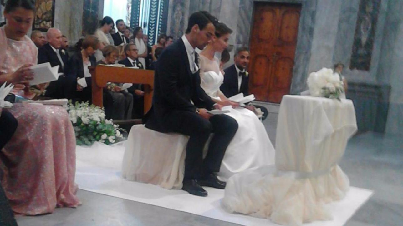 Matrimonio Natalizio Puglia : Fabio fognini e flavia pennetta sposi in puglia tgcom