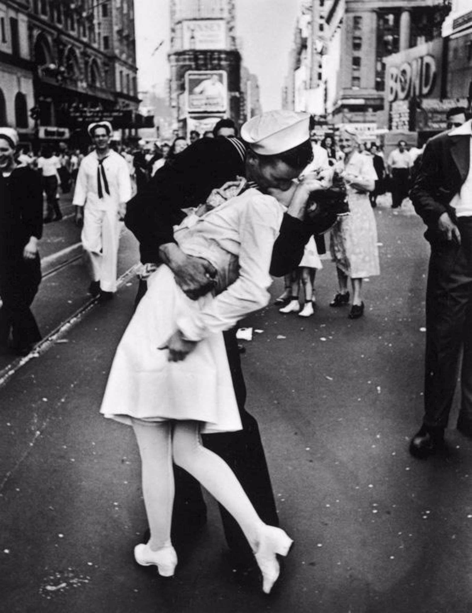 addio allinfermiera del bacio a times square la foto
