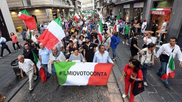 Risultati immagini per roma manifestazione m5s del 2 giugno