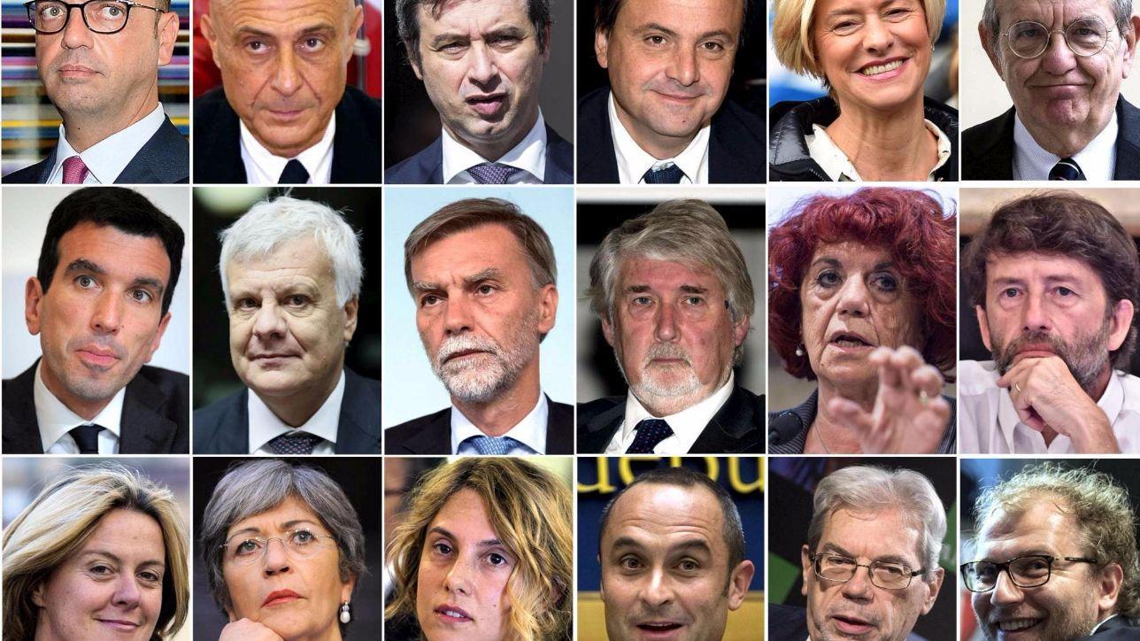 Nuovo governo paolo gentiloni e i suoi ministri hanno for I parlamentari italiani