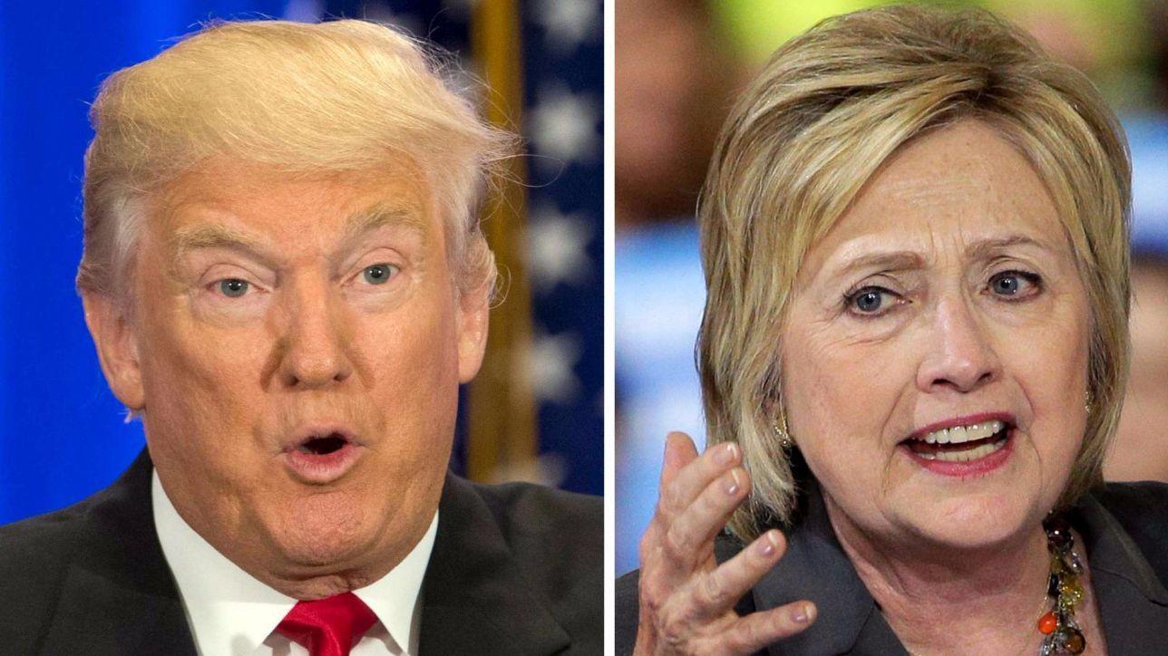 Usa 2016, sondaggi:testa a testa Clinton-Trump a poche ore duello tv