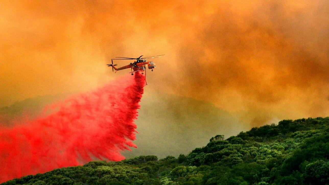 Usa incendio nel sud della california evacuate for Cabine romantiche nel sud della california