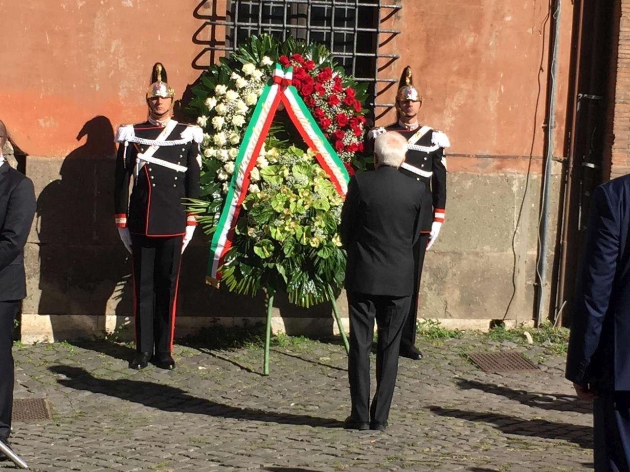 Shoah Roma, Mattarella: pagina tristissima della nostra storia