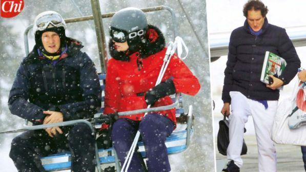 Jet Privato John Elkann : John elkann vacanze di lusso sulla neve tgcom