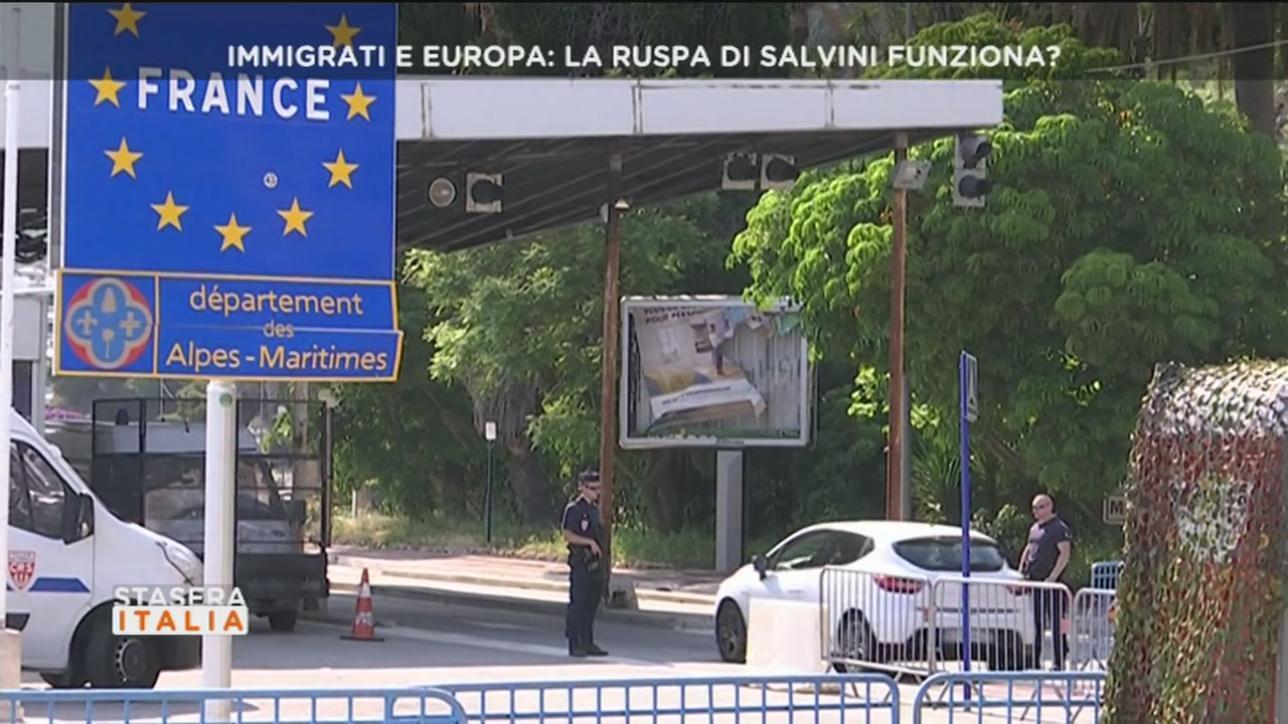 Risultati immagini per maltrattamenti migranti gendarmeria francese