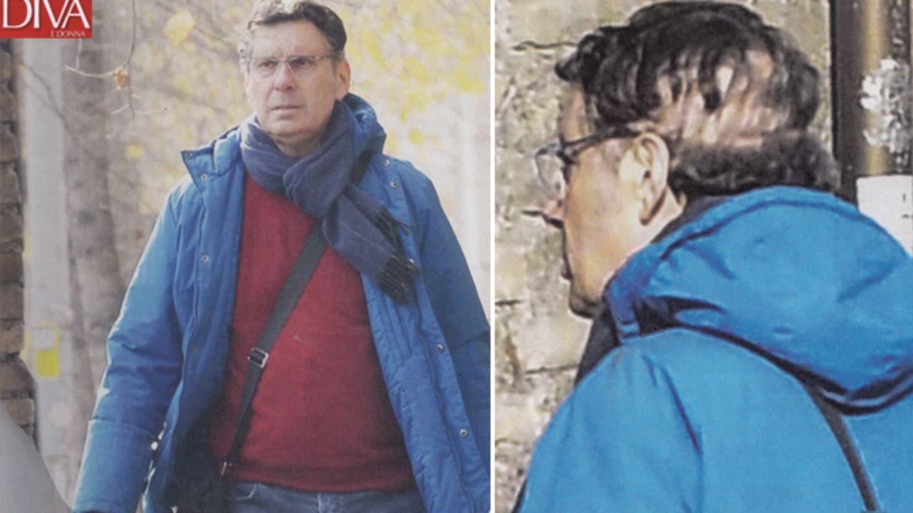 Fabrizio frizzi passeggia per roma e mostra sul capo i segni della sua battaglia tgcom24 - Diva e donne giornale ...
