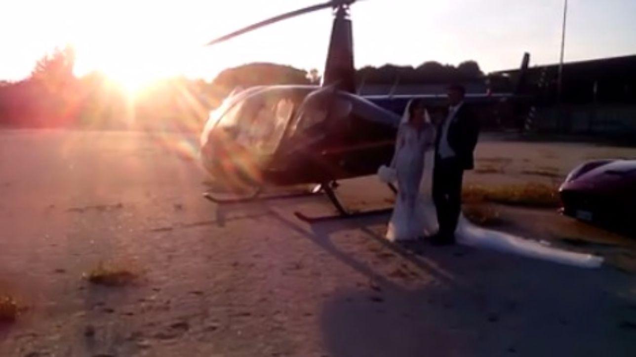 Elicottero 007 : Elicottero in piazza per nozze indagati il sindaco e lo sposo tgcom24