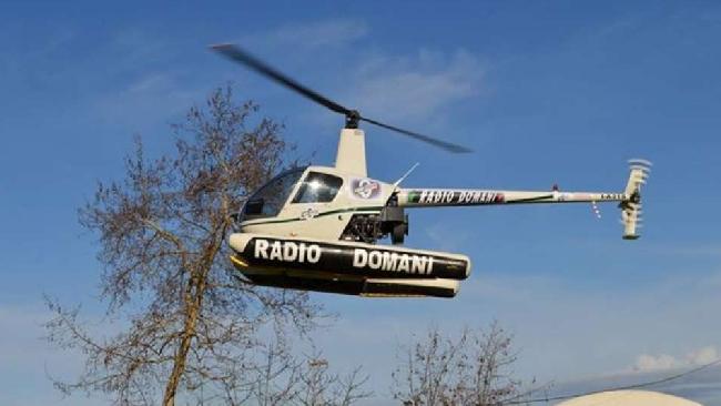 Elicottero Mediaset : Ascoli elicottero cade durante una gara automobilistica