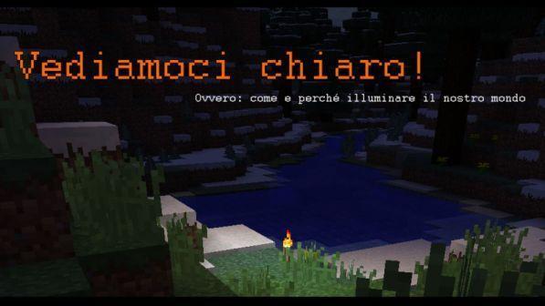 Come Fare Un Banco Di Lavoro Su Minecraft : Minecraft l illuminazione tgcom