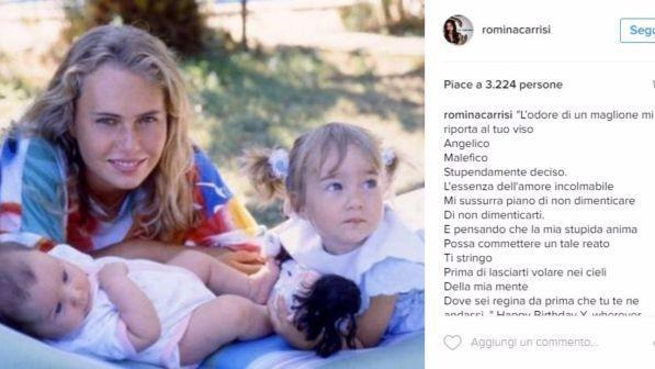 Romina Power presenta il nuovo compagno su Instagram