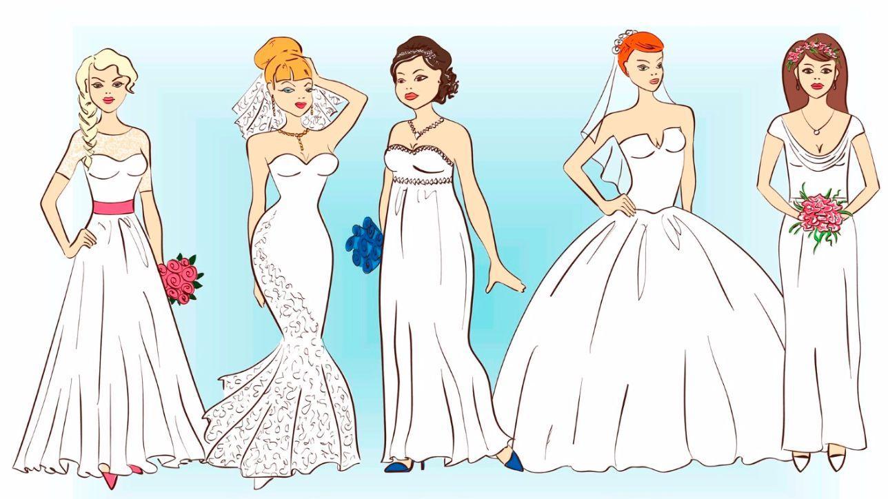 Abito da sposa  il modello perfetto per il tuo fisico - Tgcom24 90b8591a9bc