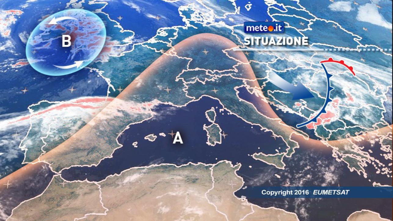 Meteo, prevalenza di sole e temperature in aumento
