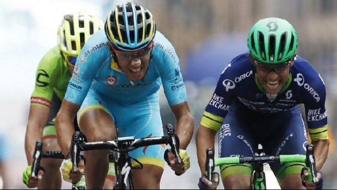 Giro di Lombardia: vince Chaves, Rosa beffato allo sprint