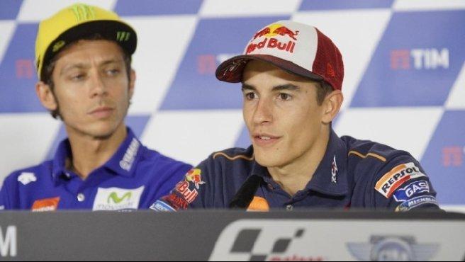 """MotoGP, Marquez risponde a Rossi: """"Ma solo in pista"""""""