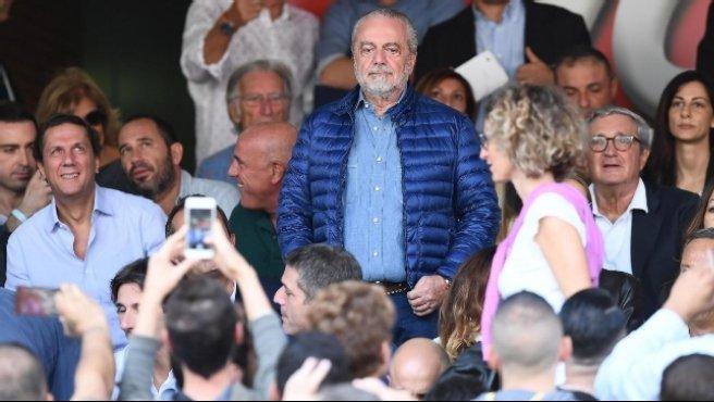 """Napoli, De Laurentiis difende Sarri e la squadra: """"Ci attaccate sempre"""""""