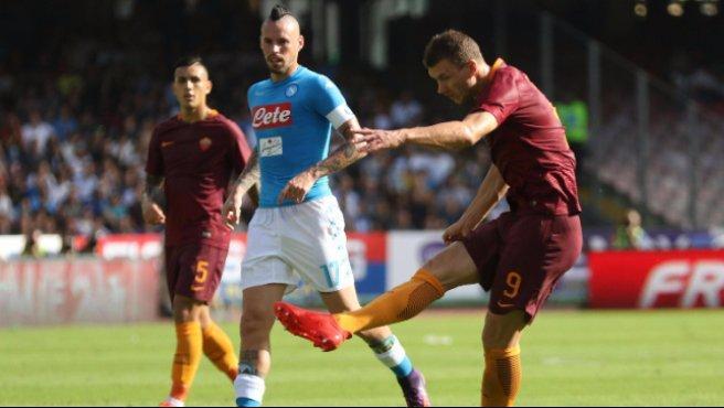 La Roma si gode Dzeko: mai un avvio così positivo in carriera