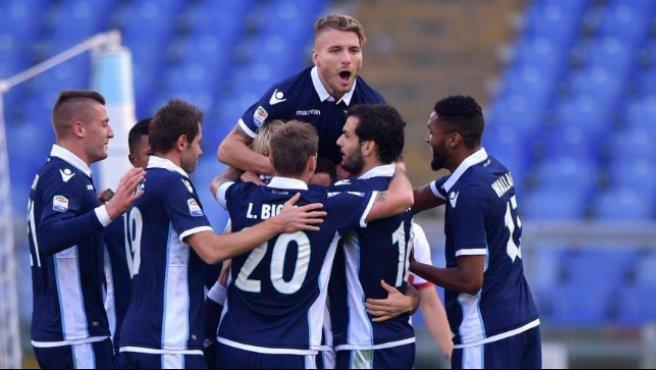 Serie A, Lazio-Genoa 3-1: a segno Felipe Anderson, Biglia e Wallace