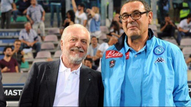 """Napoli-Roma, Sarri: """"Io non mi arrendo mai"""""""