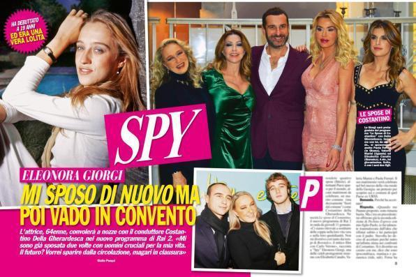 """Eleonora Giorgi: """"Addio al mondo dello spettacolo, mi chiudo in convento"""""""