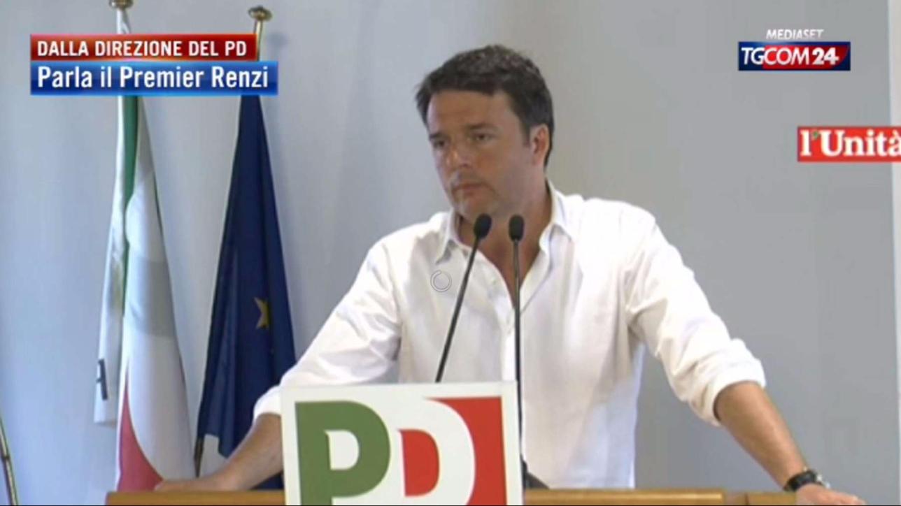 Renzi ai parlamentari del pd prossimi 6 mesi a testa for Parlamentari pd donne