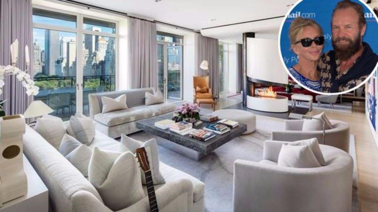 sting vende appartamento con vista central park per 50
