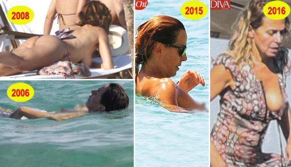Barbara d'Urso, ogni estate un topless