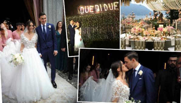 Lago Azzurro Matrimonio : Matteo darmian matrimonio da favola sul lago di como