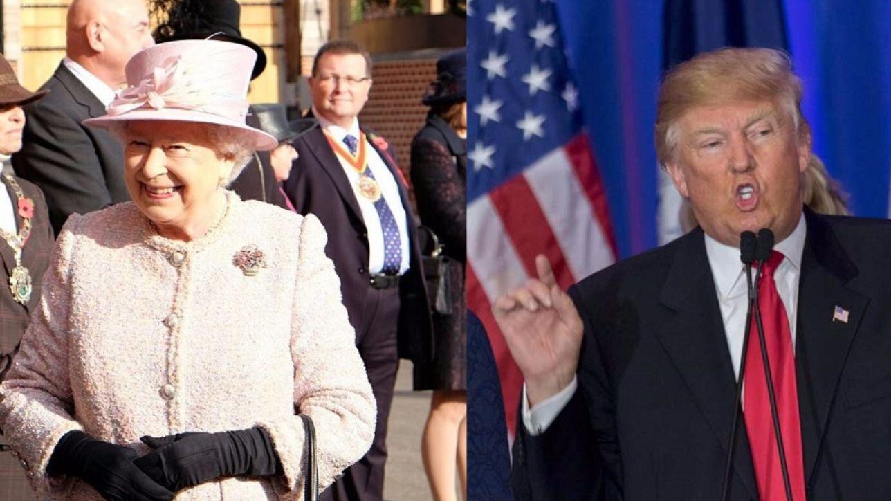 Inghilterra, la Regina Elisabetta vuole invitare Trump e Melania a Windsor