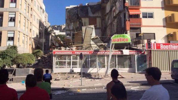 Tenerife crolla palazzina di quattro piani morta una for Piani a quattro piani