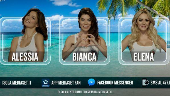 Isola Dei Famosi Finiscono In Nomination Elena Bianca E Alessia