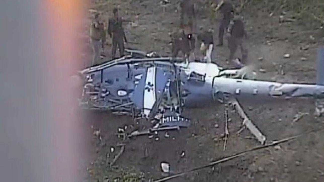 Elicottero 007 : Elicottero polizia precipita in brasile: forse abbattuto da una gang
