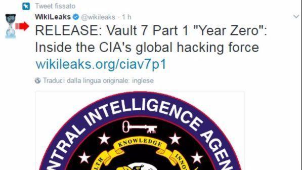 """Wikileaks: """"La Cia spiava gli altri Paesi dall'ambasciata Usa a Francoforte controllando cellulari e smart-tv"""""""