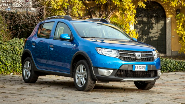 dacia sandero stepway turbo gpl tgcom24. Black Bedroom Furniture Sets. Home Design Ideas