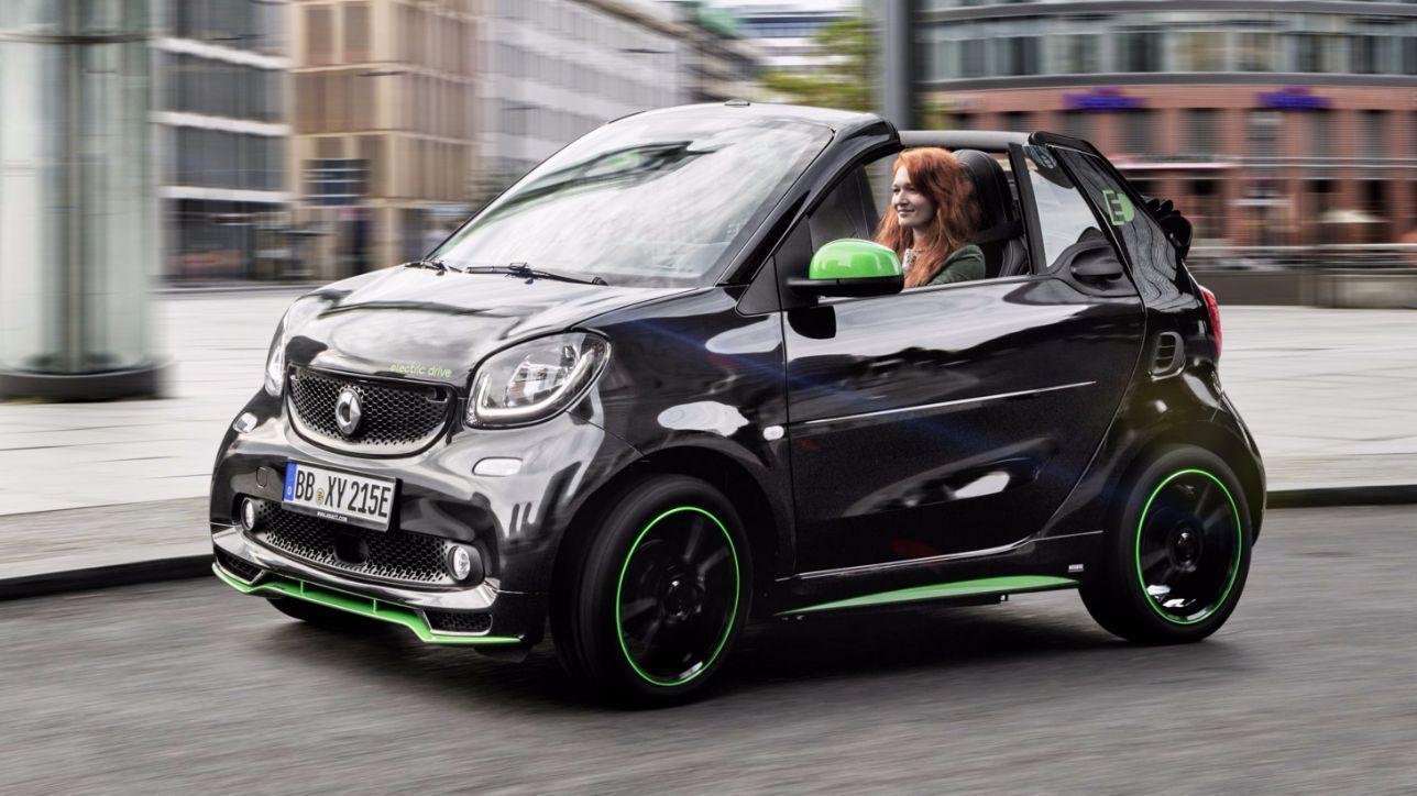 Smart Presenta La Fortwo Cabrio Electric Drive Tgcom24