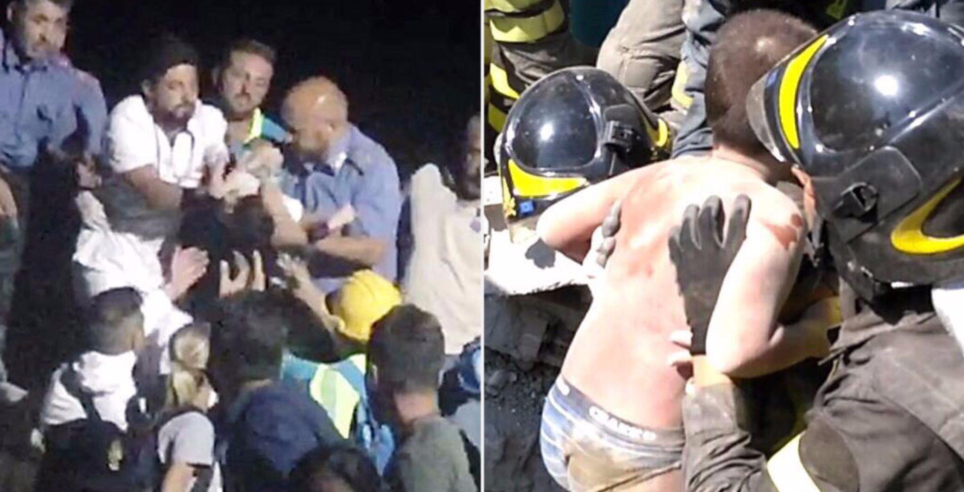 Terremoto Ischia, due donne morte a Casamicciola | Salvato dopo 14 ore il secondo dei tre fratellini|