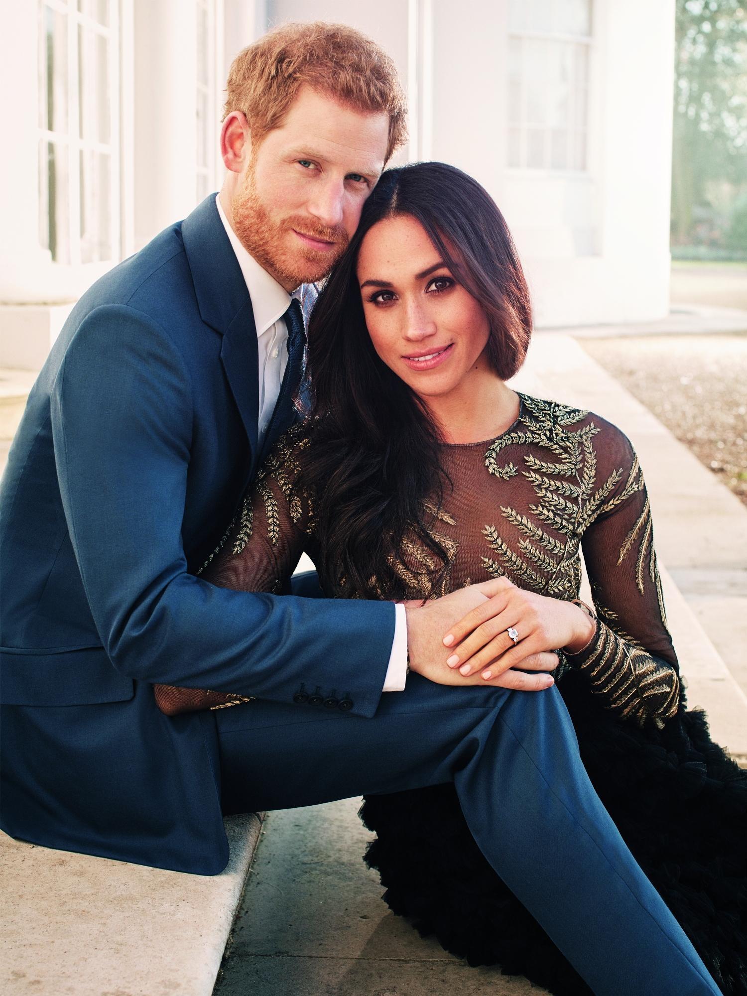 Principe Harry e Meghan Markle, ecco gli scatti ufficiali dei fidanzati