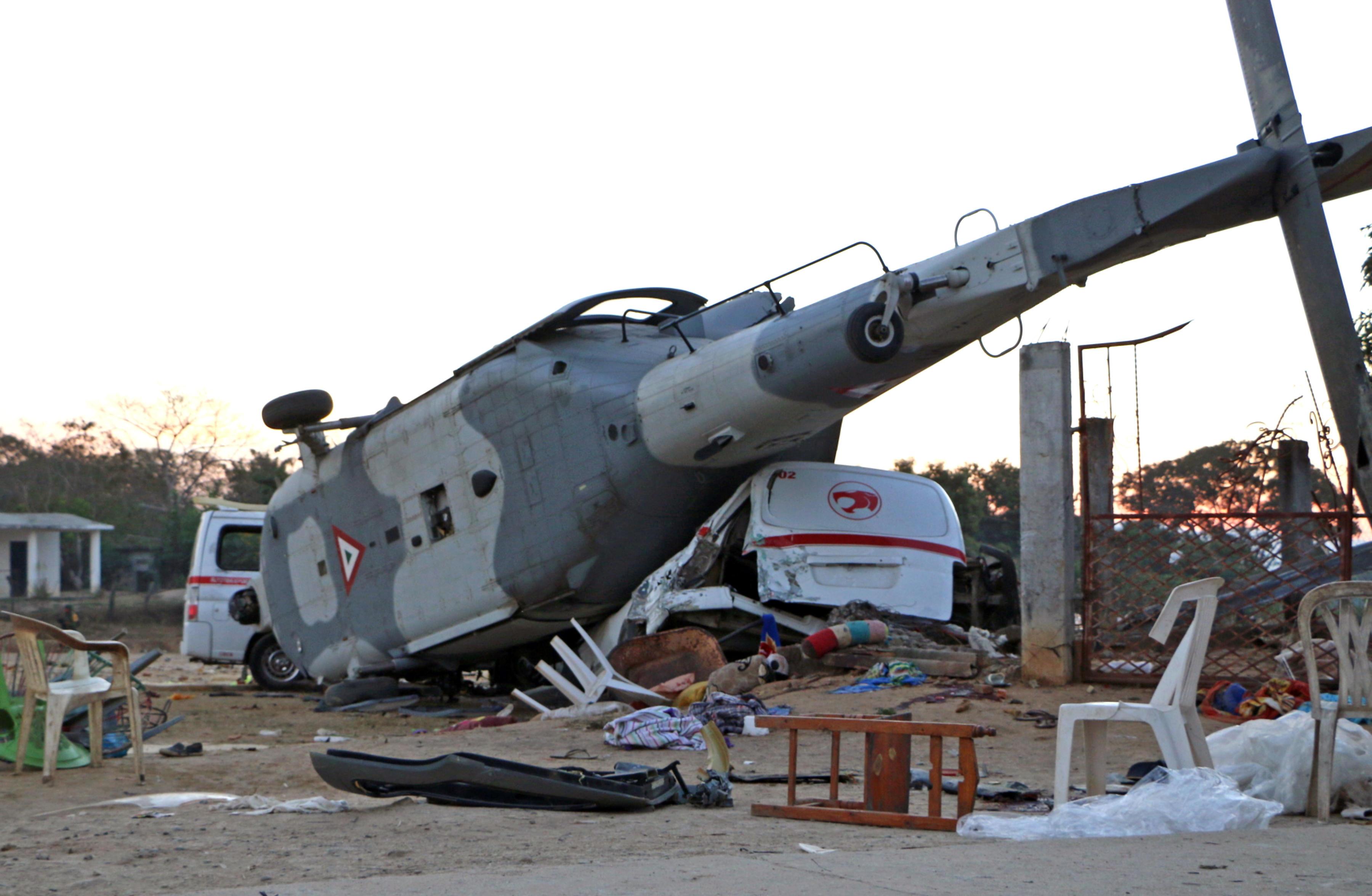 Elicottero 007 : Terremoto messico precipita elicottero dei soccorsi: 13 morti