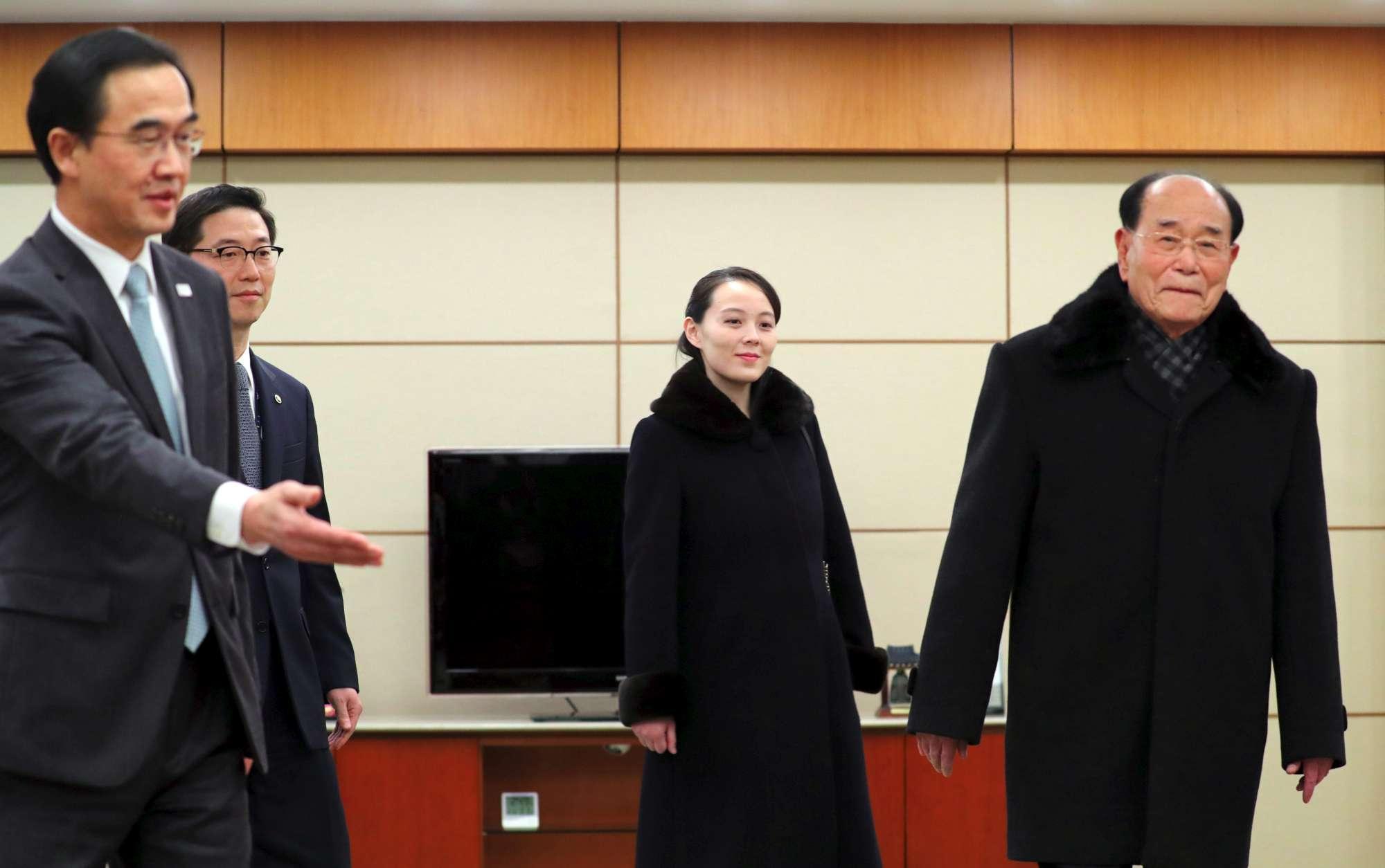 Olimpiadi, la sorella di Kim Jong Un delegata ufficiale