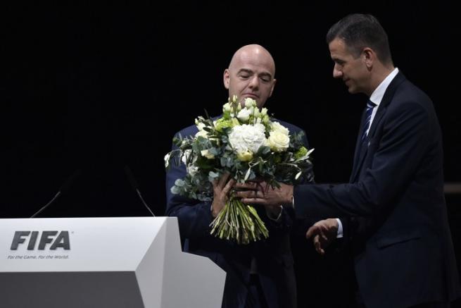 Fifa, Infantino è il nuovo presidente
