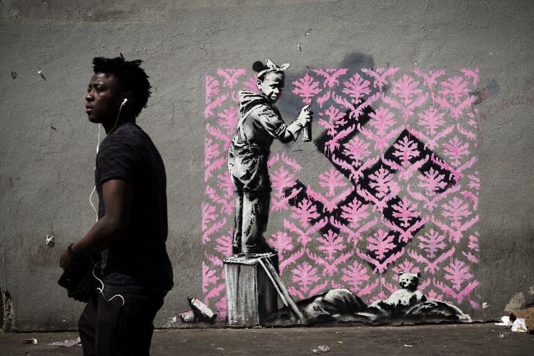 Crisi migranti: nuove opere di Banksy a Parigi