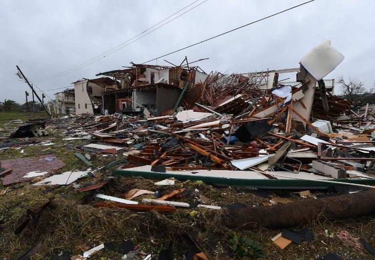 Paura in Texas per il passaggio dell uragano Harvey