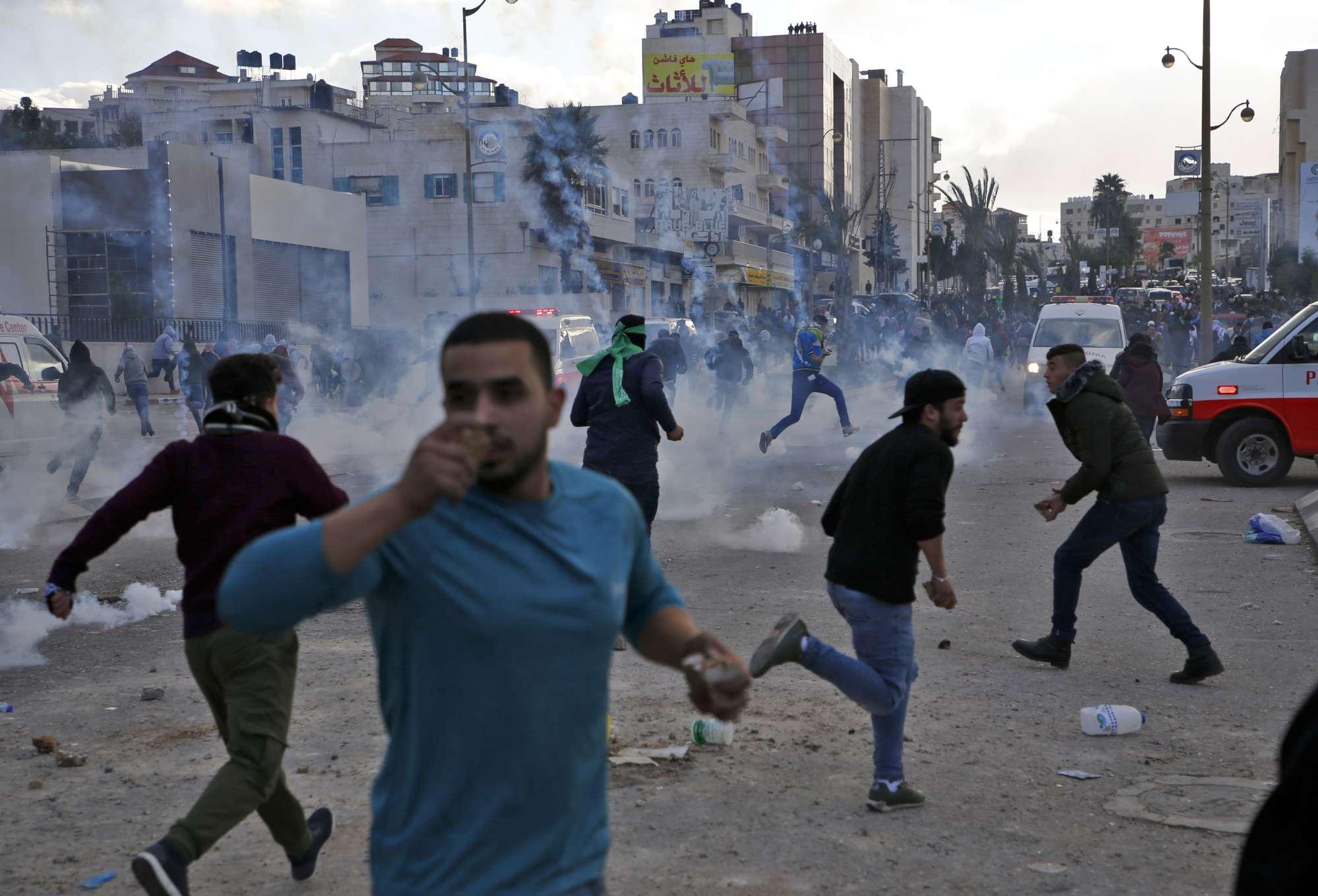 Caso Gerusalemme, scontri e feriti a Gaza e in Cisgiordania