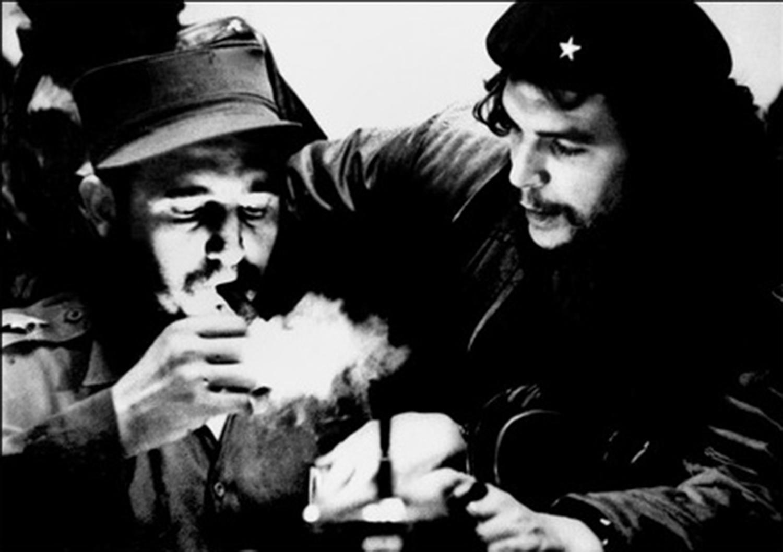 Fidel Castro ed Ernesto Che Guevara ai tempi dei  barbudos